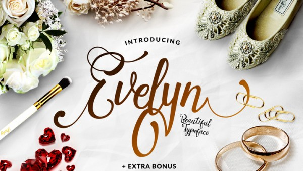 Evelyn Font Family Free