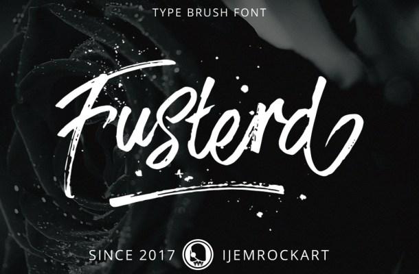 Fusterd Brush Font Free