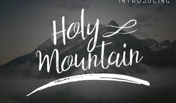 Holy Mountain Script Font Free