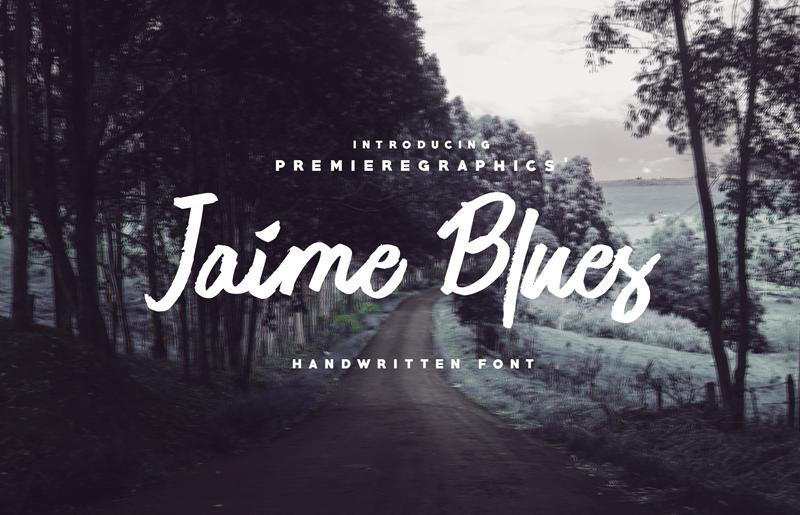 jaime-blues-font