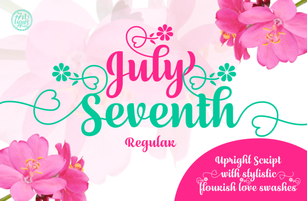 July Seventh Font Free