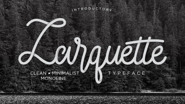 Larquette Script Font Free