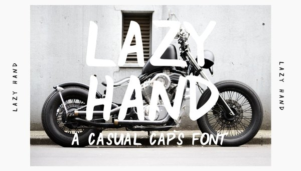 Lazy Hand Font Free