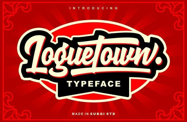 Loguetown Typeface Free