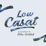 Low Casat Light Font Free