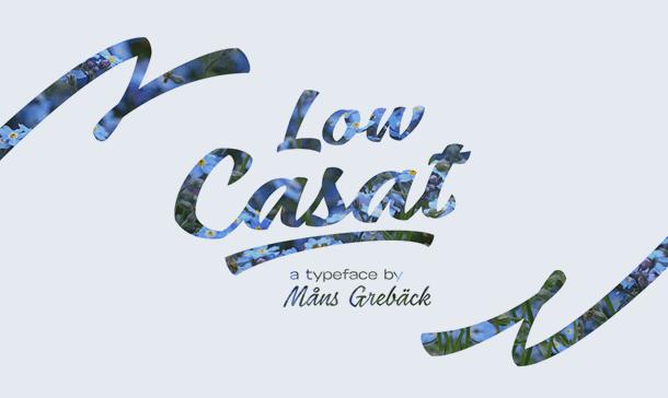 Low Casat Med Font Free