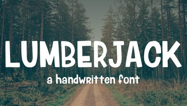Lumberjack Typeface Free