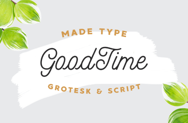 MADE GoodTime Typeface Free