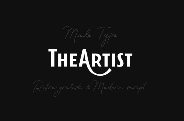 TheArtist Duo Font Free