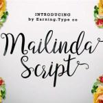 Mailinda Script Font Free