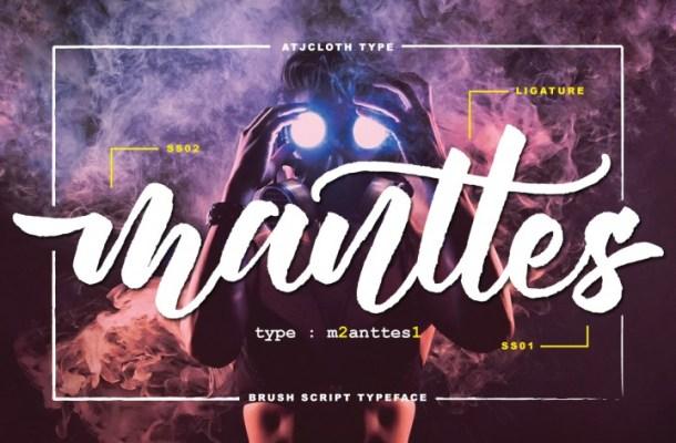 Manttes Script Font Free