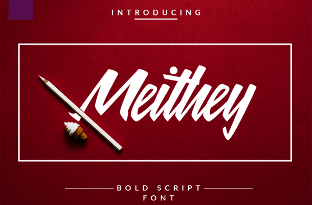 Meithey Bold Script Font Free