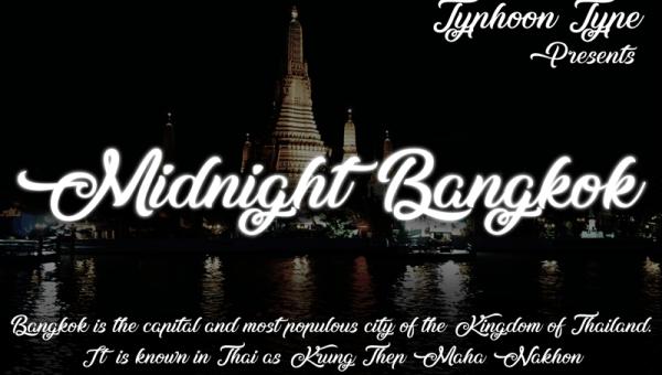 Midnight Bangkok Font Free