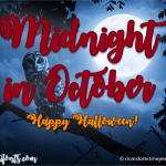 Midnight in October Font Free