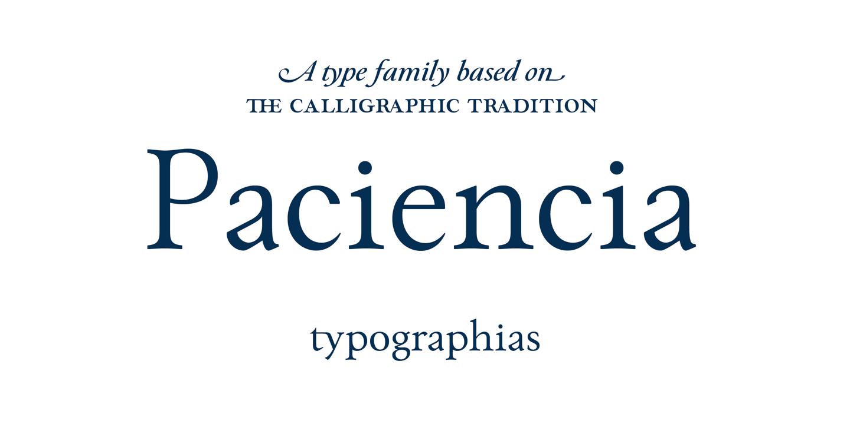paciencia-font-family