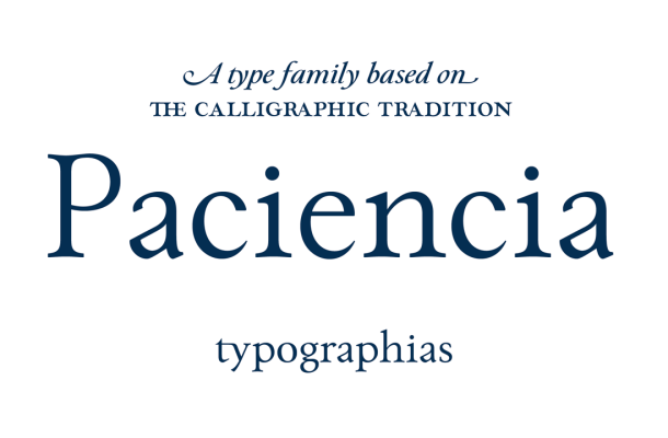 Paciencia Font Family Free