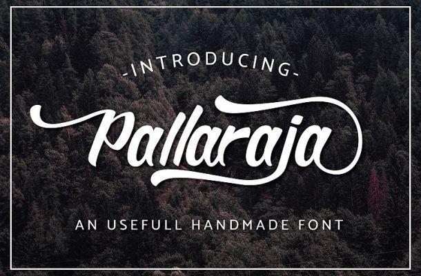 Pallaraja Script Font Free