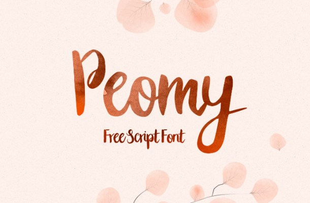 Peomy Script Font Free