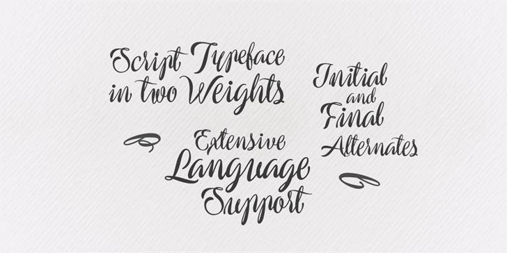 preside-script-font
