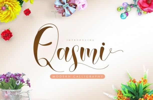 Qasmi Script Font Free