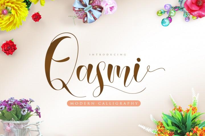 qasmi-script-font
