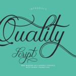 Quality Script Font Free
