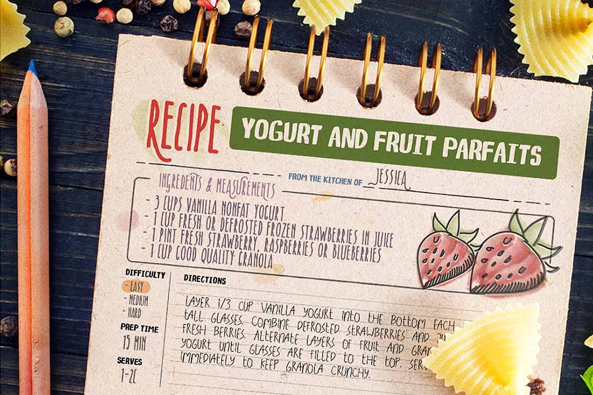 recipe-daily-typeface-4