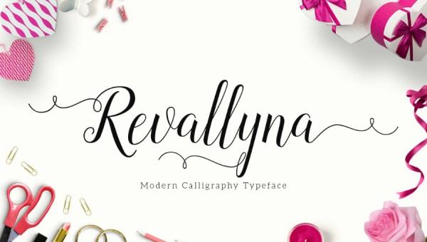 Revallyna Script Font Free