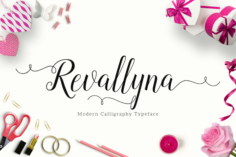 revallyna-free-font