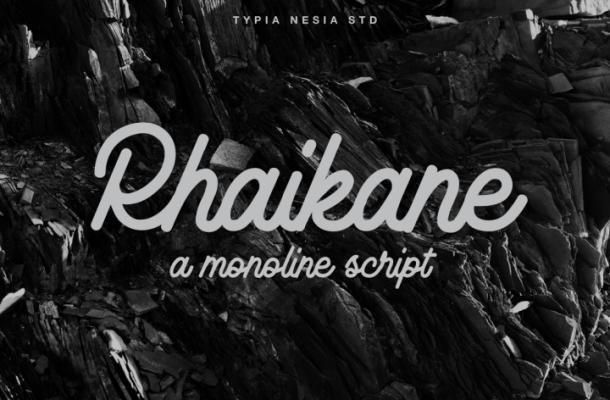 Rhaikane Script Font Free