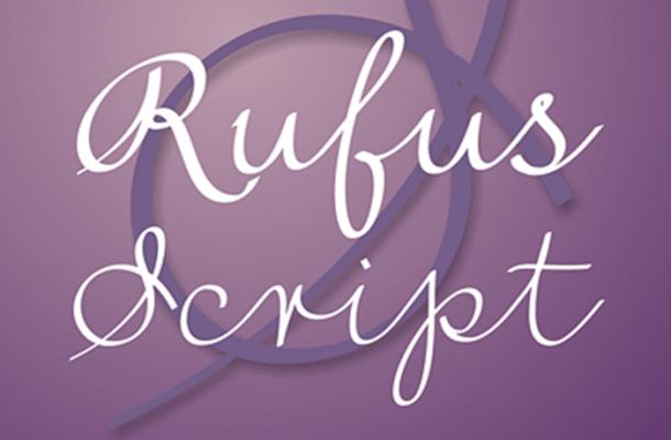Rufus Script Font Free