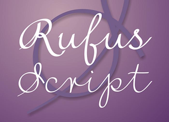 rufus-script-font