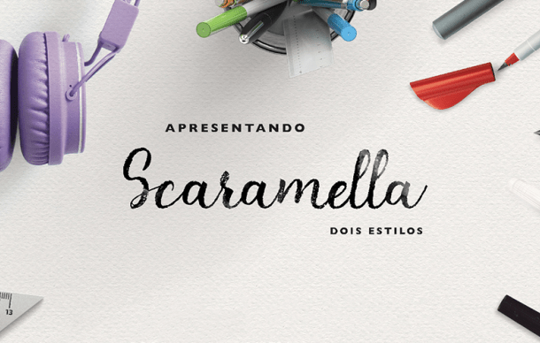 Scaramella Script Font Free