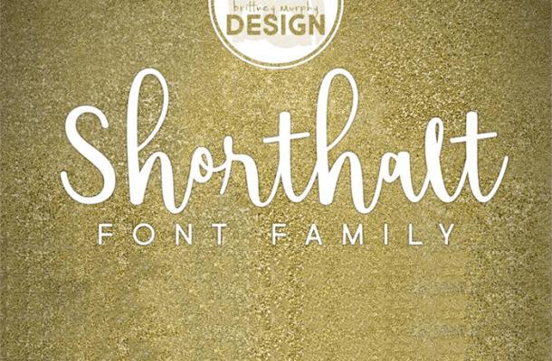 Shorthalt Script Font Free