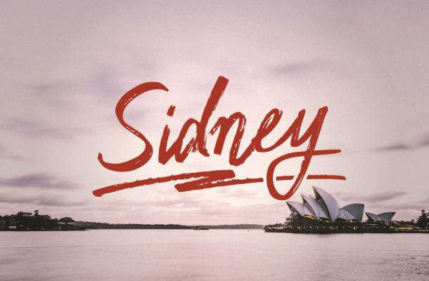Sidney Script Font Free