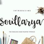 Soullarya Script Font Free