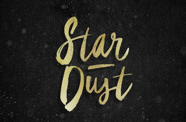 Star Dust Brush Font Free