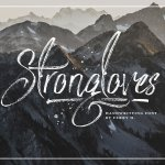 trongloves Handwriting Font Free
