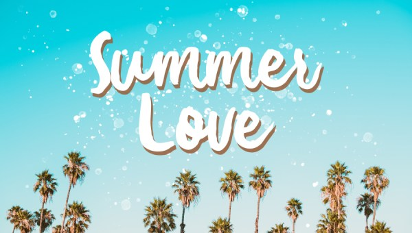 Summer Love Brush Font Free