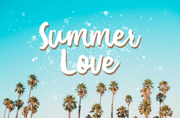 Summer Love Brush Font Free