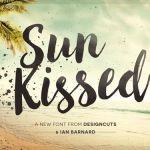 Sun Kissed Brush Font Free