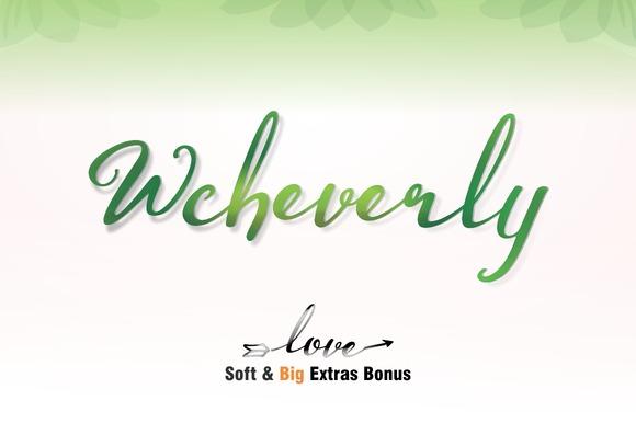 Wcheverly Script Font Free