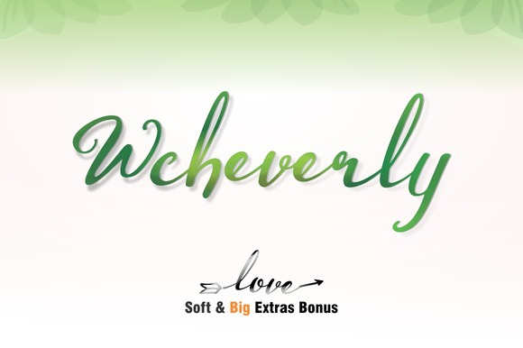 Wcheverly Script Font Free