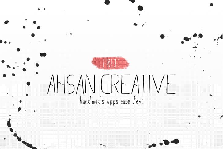 ahsan-creative-font-created-in-2016-by-creativetacos