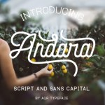 Andara Script Font Free