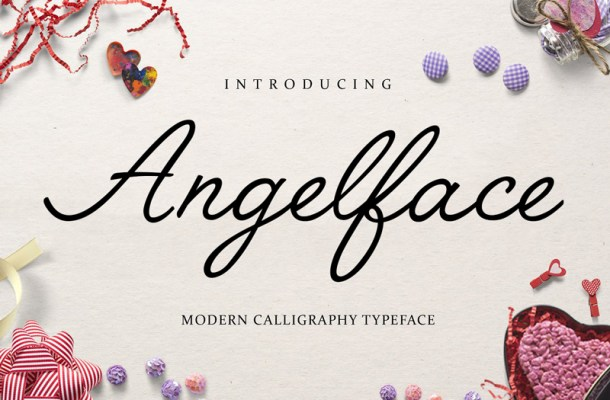 Angelface Script Font Free