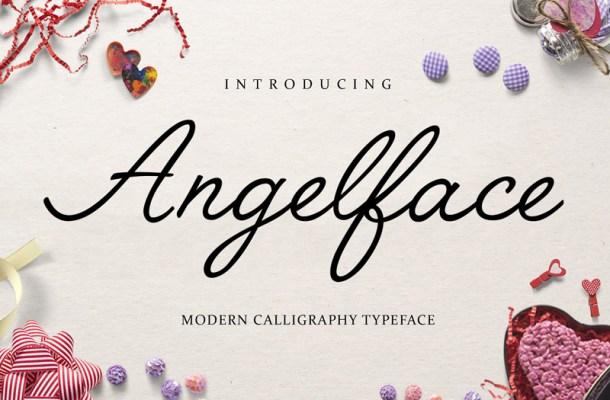 Angelface Script Font Free