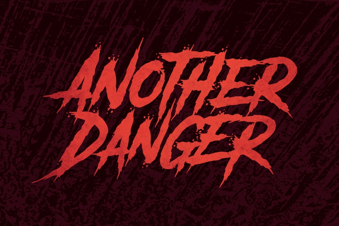 another-danger-font