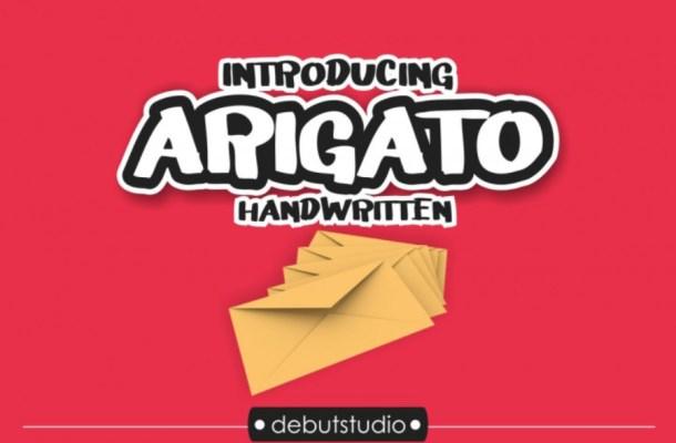 Arigato Font Free