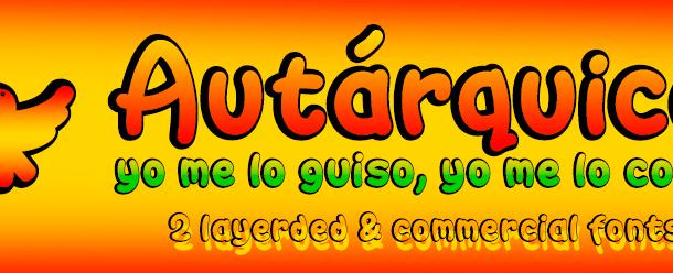 Autárquica Font Free